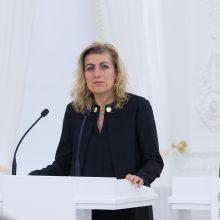 Kultūros ministrės komandą palieka dar vienas patarėjas