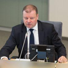 Premjeras: nėra galimybės išvengti korupcijos nusikaltimų