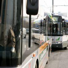 Paskutinę metų dieną viešasis transportas Vilniuje kursuos neįprastai
