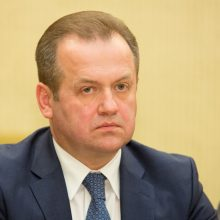 Seime bręsta apkalta A. Skardžiui