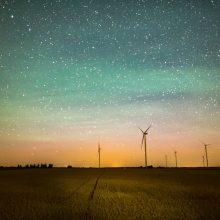 Naktį laukiama gausiausio šiemet meteorų lietaus