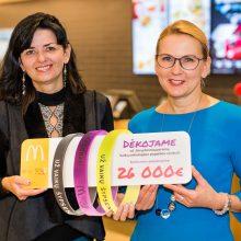 Dosnūs lietuviai pagalbos centro statyboms paaukojo 26 tūkst. eurų