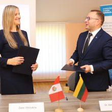 Vilniuje surengta pirmoji Peru verslo misija
