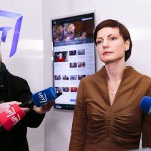 """M. Garbačiauskaitė-Budrienė: """"Duokim garo"""" eteryje išliks"""