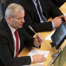 Liberalai dėl galimų slapto balsavimo pažeidimų kreipėsi į prokuratūrą