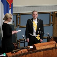 Šimtmečio proga į Lietuvą atvyks ir Suomijos prezidentas