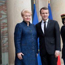 Prezidentė Paryžiuje dalyvaus Pirmojo pasaulinio karo pabaigos 100-mečio iškilmėse