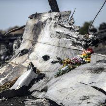 Rusija kratosi atsakomybės dėl numušto lėktuvo virš Ukrainos
