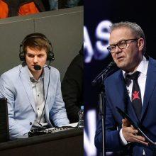 Europos krepšinio čempionatą komentuos žiūrovų pamėgtas duetas