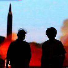 Kaista situacija tarp Š. Korėjos ir JAV: grasinimai ugnimi ir sankcijos