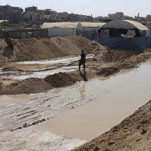 Per liūtis ir potvynius Egipte žuvo 18 žmonių