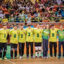Lietuvos golbolo rinktinė – Europos čempionato pusfinalyje