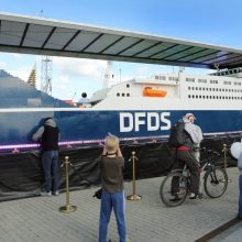 """Didžiausias pasaulyje """"Lego"""" laivas – jau Klaipėdoje"""