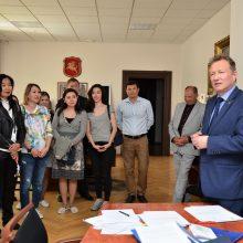 Klaipėdos universitete stažuojasi Astanos medicinos magistrantai iš Kazachstano