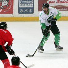 """""""Kaunas Hockey"""" ledo ritulininkai nusileido čempionams"""
