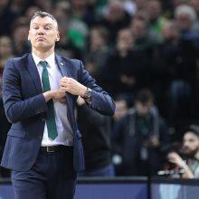 Š.Jasikevičius: šiandien nebuvo komandos