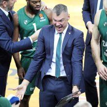 Š. Jasikevičius: esame komanda, kuri dar nemoka laimėti
