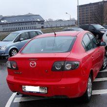 Kaunietis apie automobilių parkavimo ypatumus:  įžūlumui nėra ribų