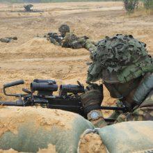 Vakarų Lietuvos regione prasidės kariuomenės pratybos