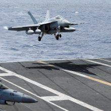 JAV pasiųs prie Š. Korėjos krantų lėktuvnešio kovinę grupę