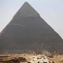 Apsilankyti Gizos piramidėje galima nenuskridus į Egiptą