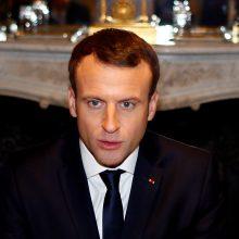 E. Macronas: Prancūzijos kariai 2019-aisiais liks Artimuosiuose Rytuose