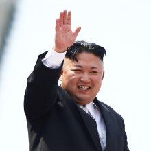 Kremlius rengia planus priimti Kim Jong Uną Rusijoje