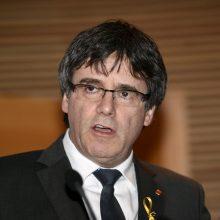 Vokietija nutraukė katalonų separatistų lyderio C. Puigdemont