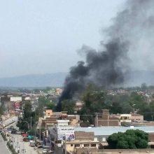 Afganistane sprogimai ir susišaudymas pareikalavo žmonių aukų