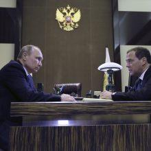 V. Putinas paskyrė naująją vyriausybę: aišku, kokie ministrai lieka postuose
