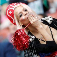 Kremlius pasisakė dėl ištvirkavimo per futbolo čempionatą
