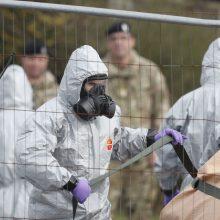 Policija nustatė pagrindinius įtariamuosius Skripalių byloje