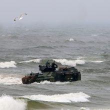 ES pasirengusi finansuoti projektus, kurie paspartintų pajėgų dislokavimą