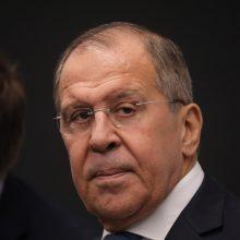 Rusijos užsienio reikalų ministras Ukrainos vadovybę palygino su naciais