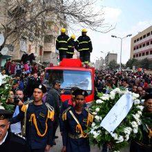 Kairo senamiestyje susisprogdinus mirtininkui žuvo keli policininkai