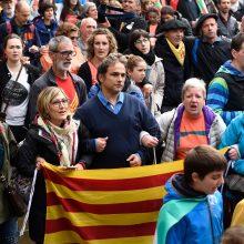 Katalonijos ultrakairioji partija grasina Madridui pilietiniu nepaklusnumu