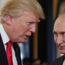 D. Trumpas su V. Putinu žada kalbėti apie kišimąsi į JAV rinkimus, Ukrainą ir Siriją