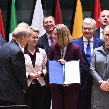ES žengia svarbų žingsnį stiprindama bendradarbiavimą gynybos srityje