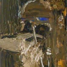"""Autoportretas"",  50 x 70cm, aliejus ant drobės,  2018."