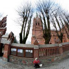 Palangoje atidarytas bažnyčios apžvalgos bokštas su apžvalgos aikštele