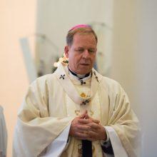 G. Grušas: turiu vilties, kad popiežius mus uždegs džiaugsmu ir viltimi