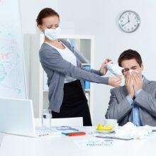 Kaune pamažu mažėja sergančiųjų gripu ir peršalimo ligomis