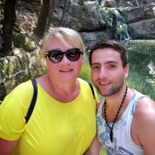 Rodo saloje dainininkas M. Vygantas sutvirtino ryšį su mylimąja
