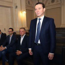Politinės korupcijos byloje apklausti šeši kaltinamieji, pradedama įrašų peržiūra