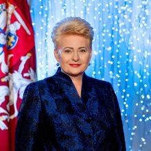 D. Grybauskaitė: drąsiai pasitikime ateinantį laiką