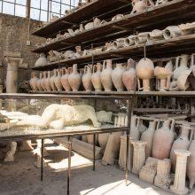 Pompėjos maudyklų griuvėsiuose – ypatingas radinys