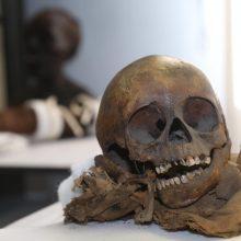 Kapų plėšikai pavogė 800 metų senumo kryžininko mumijos galvą