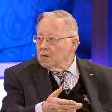 """V. Landsbergis laužo mitus apie visuomenės pamėgtą posakį  """"prie ruso buvo geriau"""""""