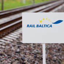 """Europos auditoriai patikrins """"Rail Baltica"""""""