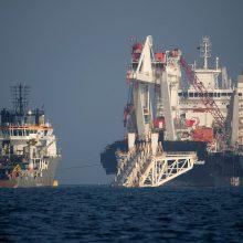 """""""Nord Stream 2"""" įmonė: dujotiekis nepakeis rusiškų dujų tranzito per Ukrainą"""